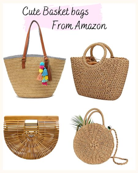These cute and affordable straw bags from Amazon are perfect for a cute spring outfit or for a summer day at the beach. http://liketk.it/3fqcd @liketoknow.it #liketkit #LTKstyletip #LTKunder100 #LTKitbag Screenshot or 'like' this pic to shop the product details from the LIKEtoKNOW.it app, available now from the App Store!