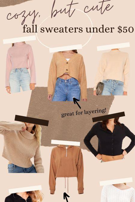 Cozy but Cute! Fall sweaters (most under $50)🍂☁️ #sweaters #fallstyle #sweaterweather #croppedsweater #under50 http://liketk.it/2YLvz #liketkit @liketoknow.it