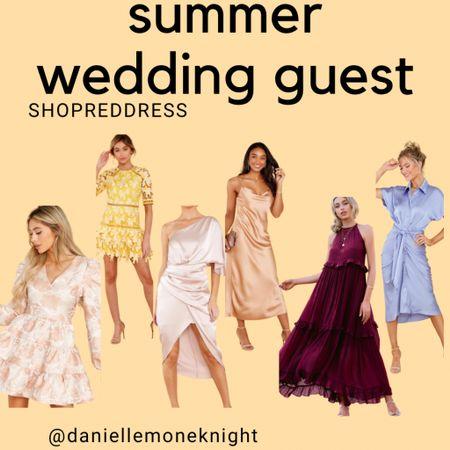 Summer Wedding SZN is here!  Check out my Reddress picks for weddings guests   http://liketk.it/3ggqj #liketkit @liketoknow.it #LTKwedding #LTKunder100 #LTKstyletip