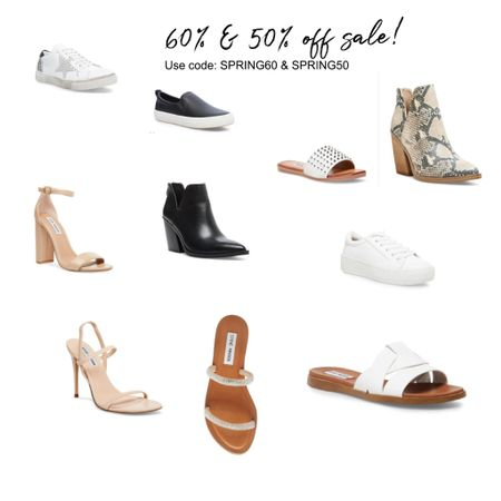 60% - 50% off soooo many great shoes! Tons of sandals for summer and boots for fall! http://liketk.it/2P7j7 #liketkit @liketoknow.it #LTKunder50 #LTKshoecrush Screenshot this pic to get shoppable product details with the LIKEtoKNOW.it shopping app #LTKsalealert