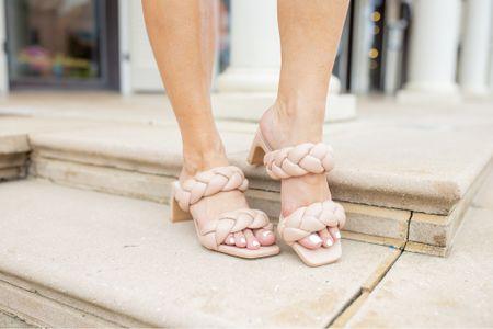 Fall shoes | nest selling sandals | braided sandals | fall heels | wedding guest dress shoes | work shoes | comfortable heels | cushioned heels   #LTKshoecrush #LTKwedding #LTKworkwear