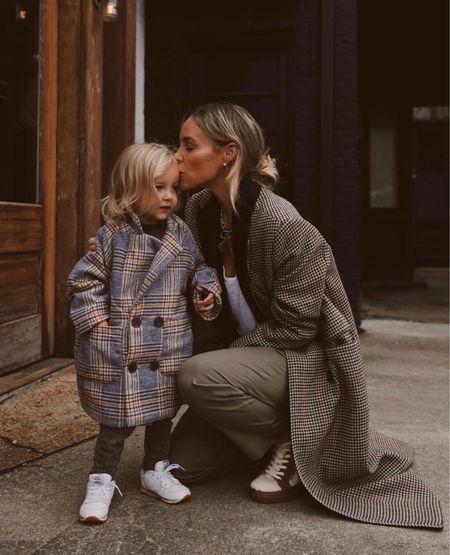 Mom + mini matching 🤍  #LTKstyletip #LTKkids #LTKfamily