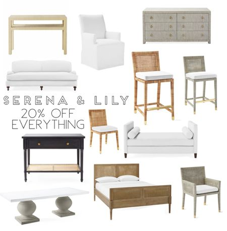 Serena and Lily, high-end furniture, Black Friday sale, cyber Monday, consul table, upholster dining chair, dining furniture, dining chair, white dining chair, rattan dining chair, woven dining chair, woven barstool, rattan barstool, cane barstool, cane chair, black entry furniture, dining table, modern dining table, beautiful furniture, entry furniture, bedroom furniture, living room furniture, dresser, nightstand, unique furniture, Daybed, bench, living room bench, home decor, restoration hardware, pottery barn, frontgate, arhaus  #LTKhome #StayHomeWithLTK #LTKsalealert