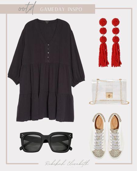 Plus size gameday outfit inspo ❤️🏈 #rebekahelizstyle  #LTKstyletip #LTKSeasonal #LTKcurves