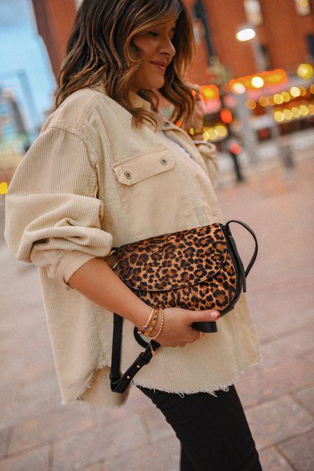 The perfect leopard print bag for fall!   #LTKunder100 #LTKitbag #LTKstyletip