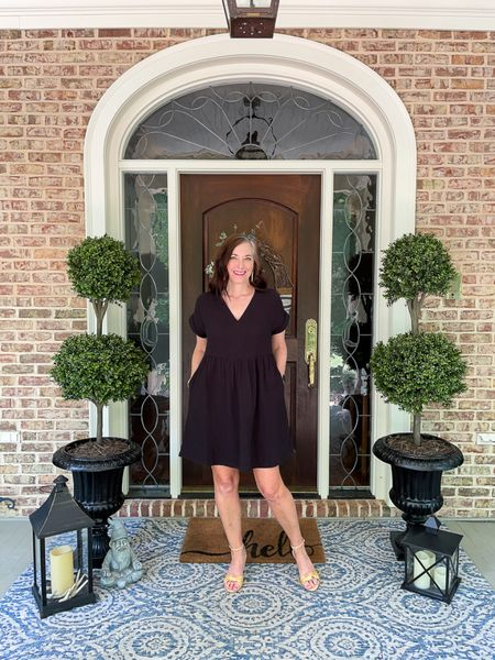 Happy Saturday! We had a fabulous rain last night….so thankful. My pots needed watering this morning and now I'm off the hook! 🤣 Planning a little evening on the patio tonight for dinner and cocktails. A new Saturdays on the Porch is live featuring this fun dress for summer from Target. Pockets for the win! I'm also sharing an Old Navy shopping trip with Ashlyn, guest room updates and progress on the dresser makeover.    You can instantly shop my looks by following  me on the LIKEtoKNOW.it shopping app http://liketk.it/3gobv #liketkit @liketoknow.it #LTKunder50 #LTKstyletip @liketoknow.it.home