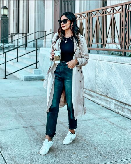 Time to get out the trench coats 😍 linked a similar one here >>>   #LTKworkwear #LTKSeasonal #LTKstyletip
