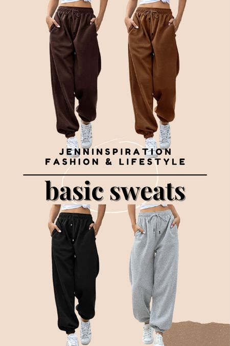 Basic comfy lounge sweats. Perfect for the airport, comfortable at home, cozy day  #LTKstyletip #LTKSeasonal #LTKsalealert