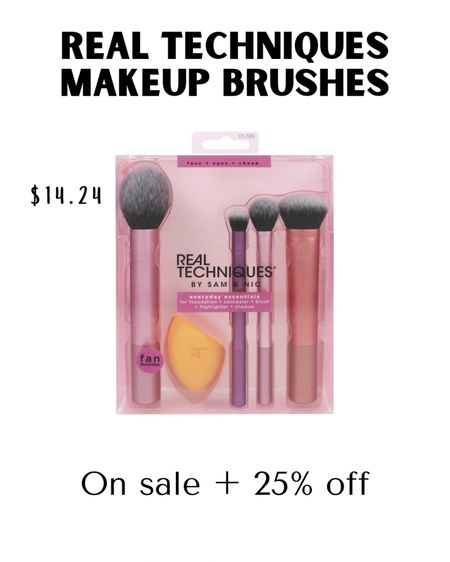 Real Techniques Make up Brushes, amazon finds, amazon, amazon fashion, amazon beauty, make up #LTKsalealert #LTKbeauty #LTKVDay #liketkit @liketoknow.it http://liketk.it/38z8O brushes.