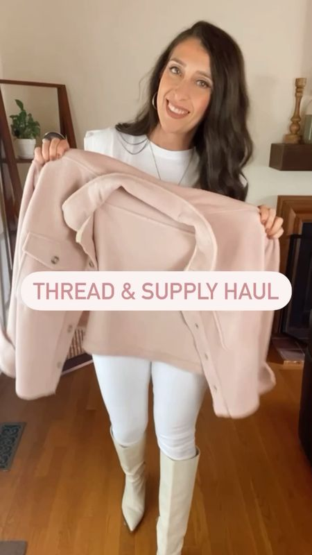 🍁Meet my new best friends from @threadandsupply !  Five perfect pieces for fall...and each one is crazy soft...so dreamy!   🍁Full item details shared in stories.   . . . . . #fallvibes #falloutfitinspo #fallstyle #newarrivals #sweaterweather #fallfashiontrends #falloutfits  #falllayers #fallstyleinspo #fall #statementcoat #fashionblogger #autumnvibes🍁 #fallfashion #streetstyle #pumpkinspice #flannel #shacket #shackets #sherpa #sherpajacket #momstyle #comfyclothes #backtoschool   Music: Temperatures Rising Musician: LoveFine Site: https://icons8.com/music/  #LTKcurves #LTKSeasonal #LTKstyletip