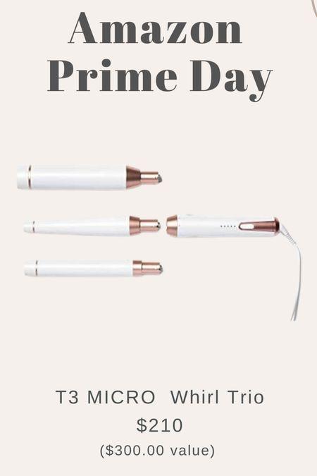 Last day of amazon prime day - my favorite t3 micro whirl trip interchangeable wand is on sale!!    #LTKsalealert #LTKbeauty #LTKSeasonal