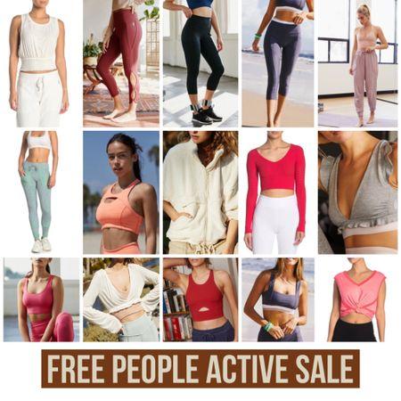Free People Active Sale  #active #freepeople #fp #activewear #wfh #workfromhome #workout #sale #salealert #leggings #gym #LTKfit #LTKsalealert #StayHomeWithLTK @liketoknow.it #liketkit http://liketk.it/2STD9
