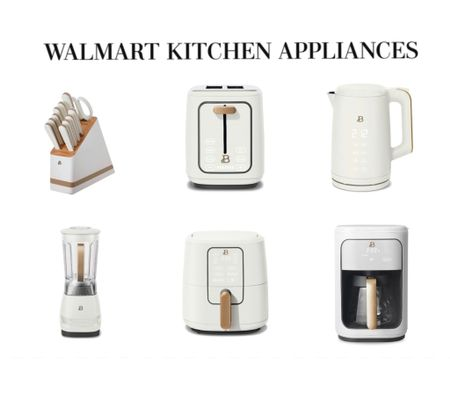 The best looking small appliances for the kitchen from WALMART   #LTKhome #LTKunder100 #LTKunder50