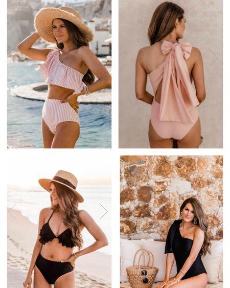 Spring break swim!! Cute one piece and bikini options http://liketk.it/39MBf #liketkit @liketoknow.it #LTKunder50 #LTKswim