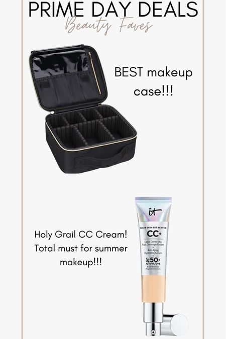 Amazon prime day!! My top 2 beauty faves! Travel makeup case and it cosmetics CC cream! http://liketk.it/3i5Rp @liketoknow.it #liketkit