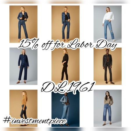 I absolutely love @dl1961 sculpting denim- it holds me in all the right places! And this weekend you can get 15% off everything from sculpting jeans to jumpsuits with code LABOR15 #investmentpiece   #LTKSeasonal #LTKstyletip #LTKsalealert