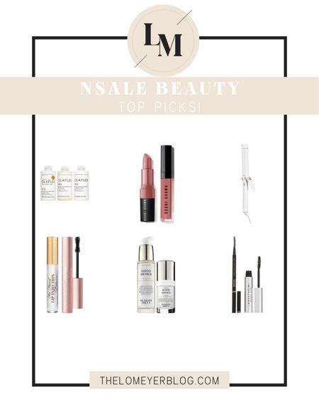 Nordstrom Anniversary Sale! More beauty picks! http://liketk.it/2THZJ @liketoknow.it #liketkit #LTKsalealert #LTKunder100 #LTKbeauty NSALE | mascara | top faced | olaplex | T3 | Anastasia | brow pencil | skincare | haircare