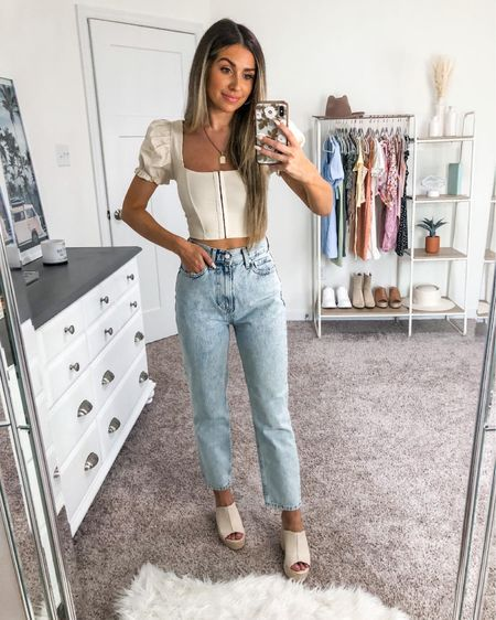 Neutral summer outfit 🤍 top is windsor and under $40! Size down, runs a little big in the shoulders http://liketk.it/3ifGc #liketkit @liketoknow.it #LTKunder50 #LTKstyletip #LTKshoecrush