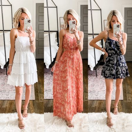 So many good summer dresses for beach vacations, family photos and more! All on sale this weekend.   #LTKsalealert #LTKstyletip #LTKDay