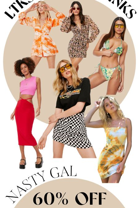 Here are some cute finds from nastygal that are on sale!!!  #LTKDay #LTKswim #LTKstyletip