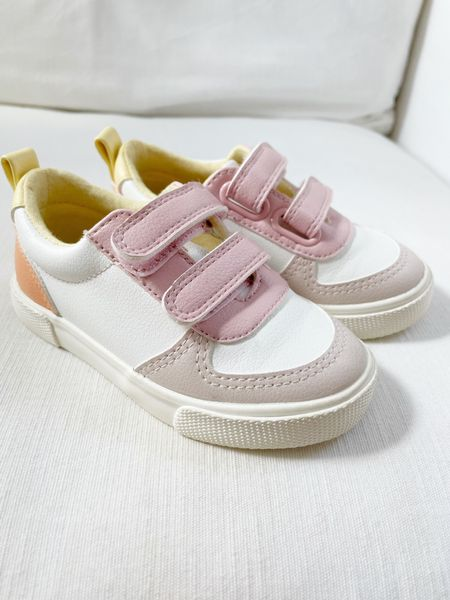 The cutest Veja inspired sneakers for toddlers— $20! Target find and so impressed with the quality!   #LTKfamily #LTKunder50 #LTKkids