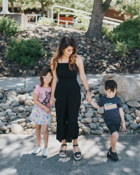 Guuuuuuys! My son has the toe point down!!!! ❤️❤️❤️ My jumpsuit along with a whole bunch more are just $12! Marked down from $40 and it's only good for today. I love me a one piece outfit. Not so much when I have to use the restroom though... 😂   Shop my daily looks by following me on the LIKEtoKNOW.it shopping app. http://liketk.it/2OOC3 #liketkit @liketoknow.it #LTKspring #LTKunder50 #LTKsalealert