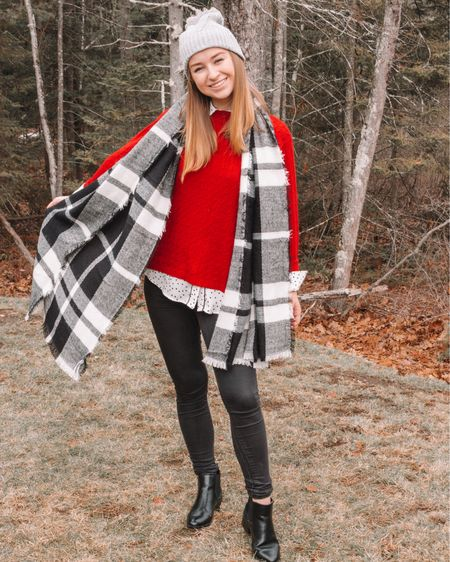 Causal Holiday Look! I love this Target beanie and Old Navy plaid scarf! This Target Chelsea boots are perfect for this time of year too! http://liketk.it/2yRfw #liketkit @liketoknow.it #LTKholidaystyle #LTKshoecrush #LTKunder100 #LTKunder50 #LTKstyletip #LTKsalealert
