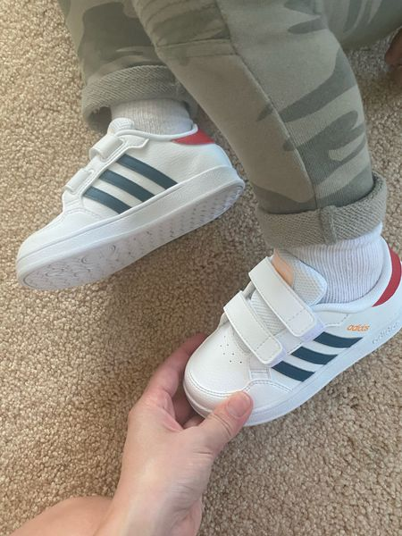 Classic adidas tennies for toddlers under $40  White sneakers, back to school, new sneakers, white shoes, white sneakers  #LTKshoecrush #LTKkids #LTKbaby