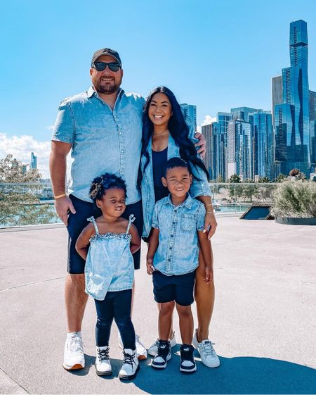Matching family outfits #chicago #navypier  #LTKfamily #LTKmens #LTKkids