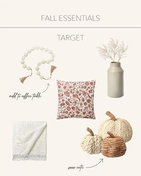 Fall Essentials | Spice up your home with timeless pieces of the season 🍂  #LTKstyletip #LTKhome #LTKSeasonal