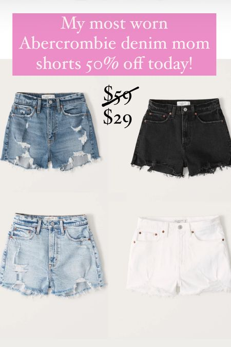 50% off Abercrombie shorts!!