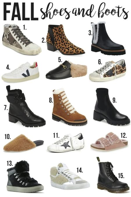 Fall Shoes & Boots❤️//  #LTKunder100 #LTKSale #LTKshoecrush