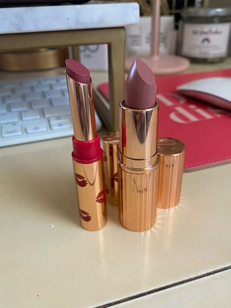 Two new Charlotte Tilbury lippies! I'm in love 🥰 Everlasting Blossom and Runway Royalty!   #LTKHoliday #LTKunder50 #LTKbeauty
