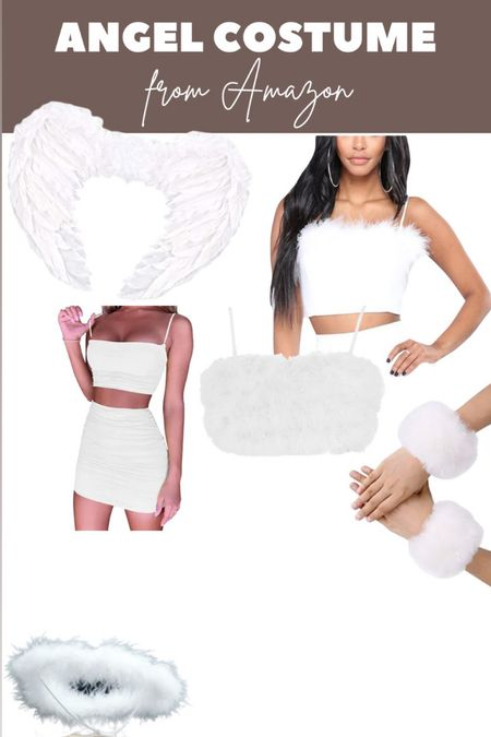 Angel costume from Amazon