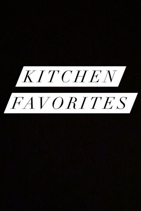 Some of my favorite kitchen products!   #LTKunder50 #LTKhome #LTKGiftGuide