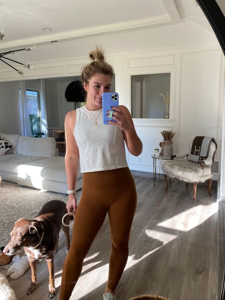 BEST SELLER — Lululemon align leggings, of course! Love these to work out in and also wear with athleisure outfits  #LTKfit #LTKstyletip