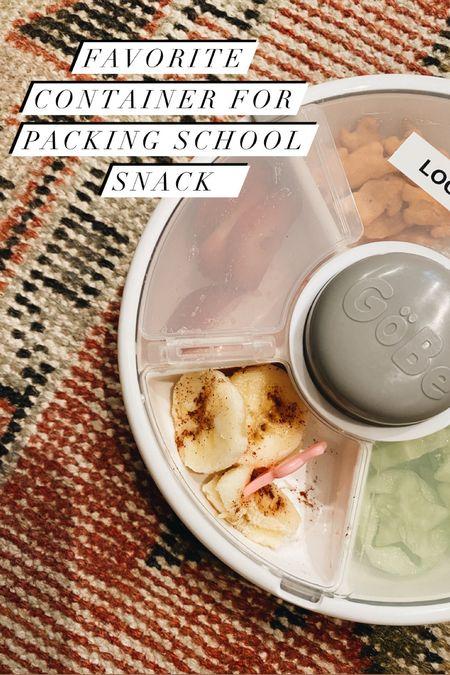 Snack spinner // dishwasher safe #amazon #amazonfind #schoolsupplies #toddler   #LTKunder50 #LTKkids