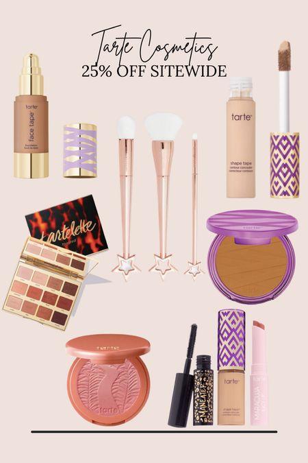 Tarte Cosmetics 25% off Sitewide!  #LTKSale #LTKbeauty #LTKsalealert