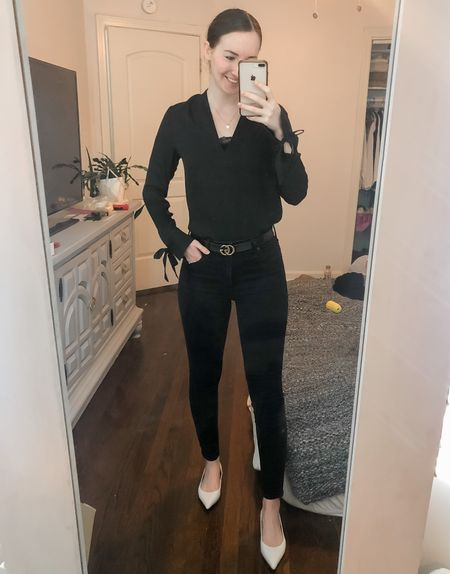 Business casual, work wear, wear to work, real estate agent, realtor style, office style, white flats   #LTKworkwear
