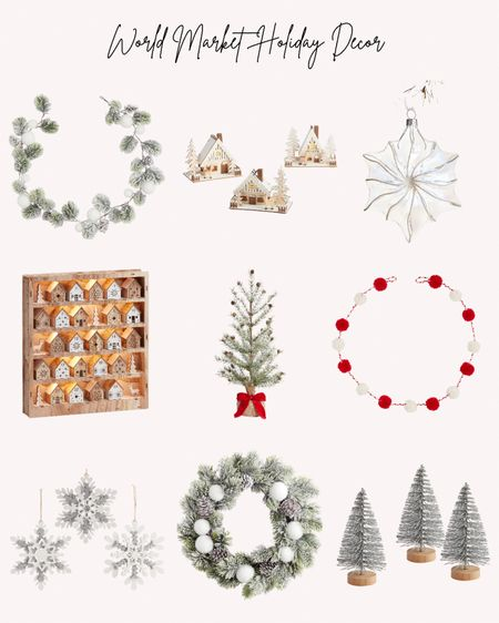 Holidays, holiday decorations, Christmas, home decor, garlands, wreaths, trees, advent calendar, ornaments, villages  Follow me for more ideas and sales.   Double tap this post to save it for later    #LTKhome #LTKSeasonal #LTKHoliday