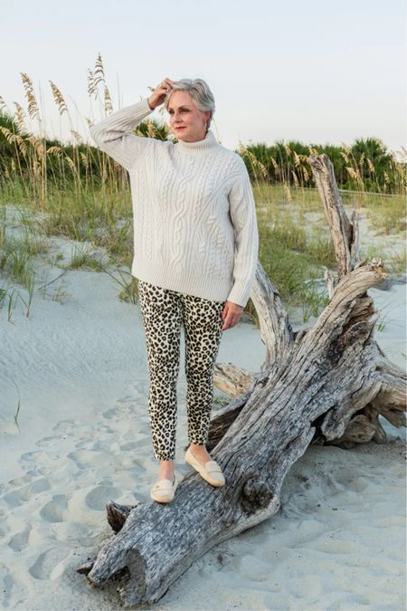 Cable knit sweater  #LTKstyletip