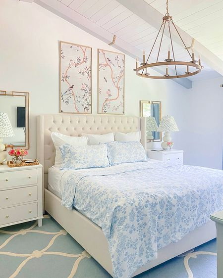 I love florals inside and out. I recently published a blog with all kinds of beautiful and affordable bedding- go to my blog to check it out!  #LTKhome
