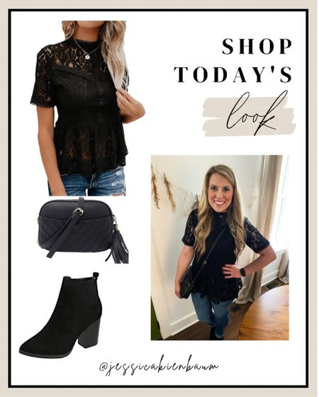 My new favorite outfit from Amazon! Perfect for Nashville, date night, girls night, out on the town! All Amazon prime!!   #LTKunder50 #LTKsalealert #LTKstyletip