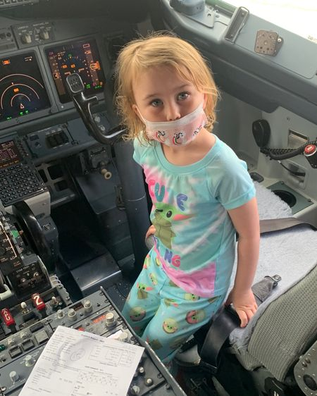 These baby yoda pjs for kids are soft! They are a two piece and make a great Disney pajama outfit for bedtime! The girls wore them on the plane when we traveled to Florida! Also linked their disposable panda masks! On sale!  http://liketk.it/3goBe #liketkit @liketoknow.it #LTKtravel #LTKkids #LTKsalealert #competition #ltkseasonal