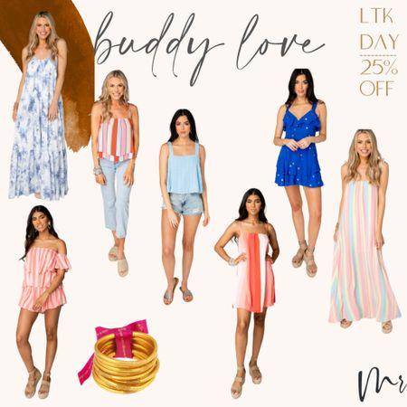 http://liketk.it/3hkzS #liketkit @liketoknow.it #LTKDay #LTKunder100 #LTKsalealert LTK Day … 25% off Buddy Love #ltkday #summeroutfits #maxidress #buddylovesale