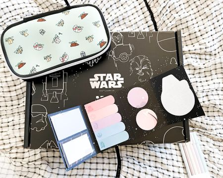 Star Wars pencil box and sticky notes from Erin Condren!   http://liketk.it/3jb69    #liketkit @liketoknow.it Shop your screenshot of this pic with the LIKEtoKNOW.it shopping app @liketoknow.it.family @liketoknow.it.home #LTKhome #LTKunder50 #LTKworkwear