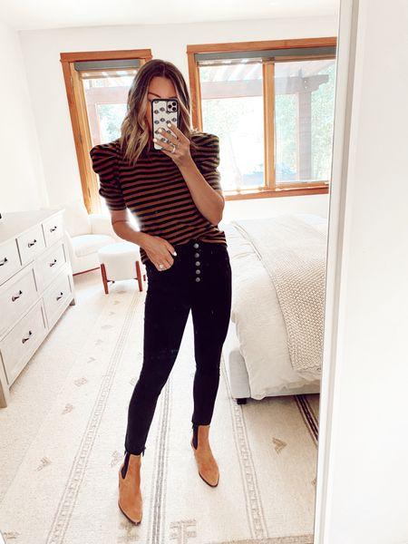 target style, jeans, nsale booties   #LTKstyletip