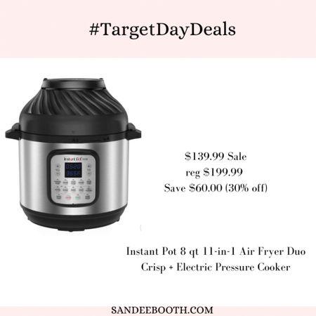 Instant pot deal from Target   #LTKhome #LTKSeasonal #LTKsalealert