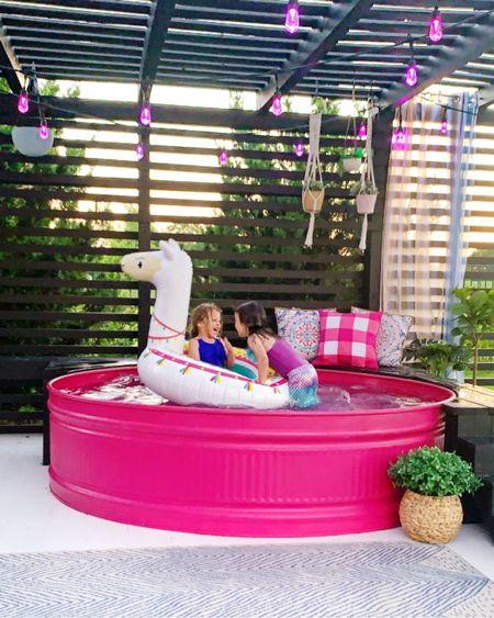 Soooo ready for summer!!! 💦🌊☀️ This llama pool float was our favorite last year 🦙  . .  http://liketk.it/37Bwg #liketkit @liketoknow.it #LTKfamily #LTKhome #LTKswim @liketoknow.it.home @liketoknow.it.family patio, outdoor decor, home decor, swim, backyard decor, pool float, pool decor, outdoor deck