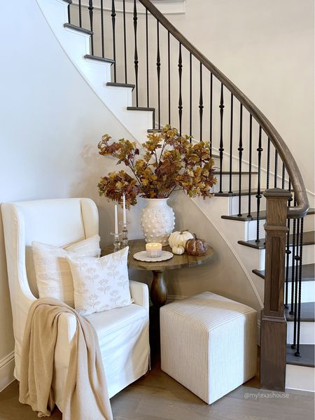 Entryway sources, fall decor, home decor, pottery barn, foyer round table   #LTKunder50 #LTKstyletip #LTKhome